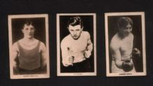 Trade cards Boxing boxers 1922 Jim Higgins, & more  #953